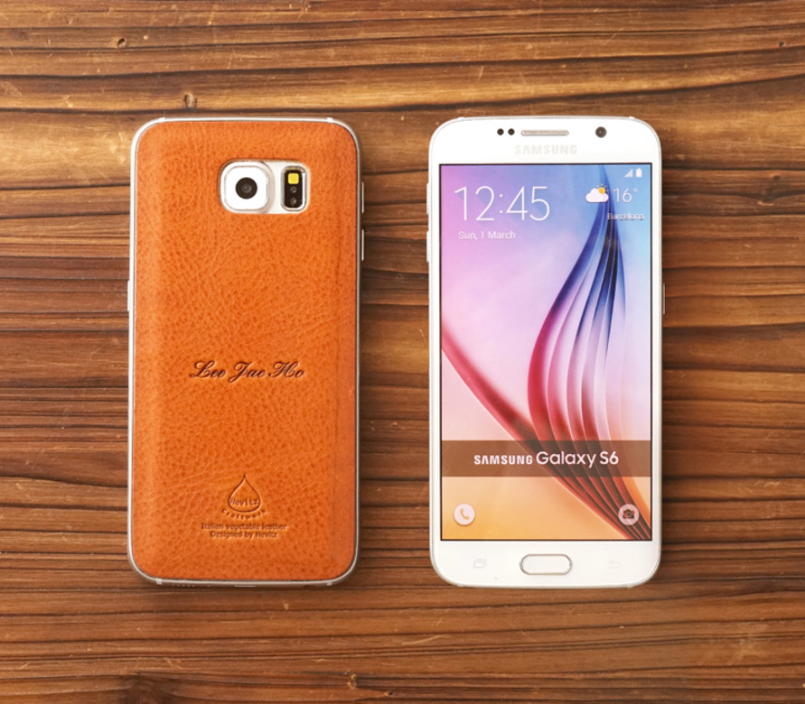 3775 스마트폰 레더스킨 (갤럭시 S6)Smartphone Leather Skin for Galaxy S6 MX