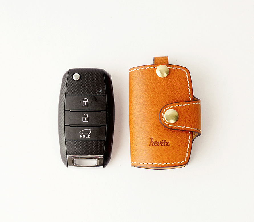 HEVITZ7707 기아 스마트키 케이스KIA Smart Key CasePRIDE,SPORTAGE R,CARENS 등