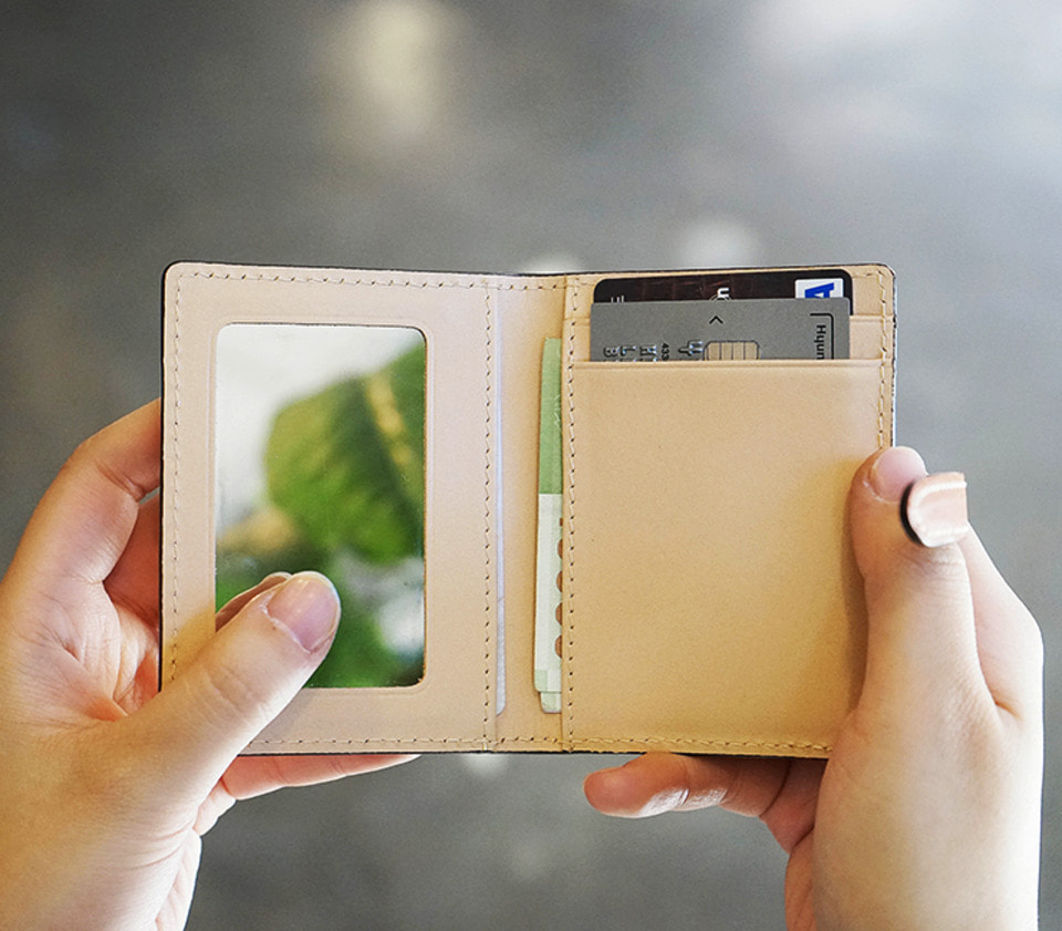 SH132 손거울 카드 월렛Hand Mirror Card Wallet