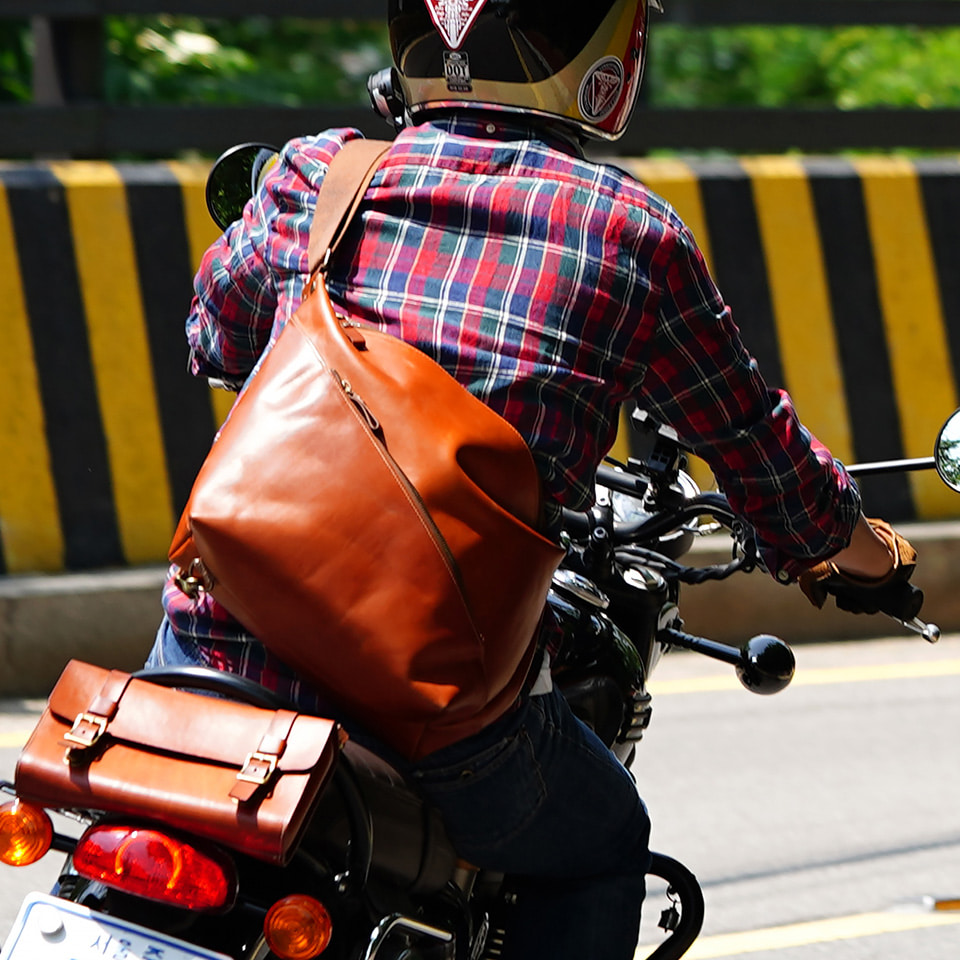 가죽공방 헤비츠 : Hevitz 991 bikers bag dxson